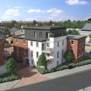 Goods Station Road, Tunbridge Wells. 2 bedroom penthouse
