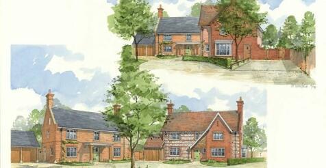 Blandford Road, Puddletown, Dorchester, Dorset. DT2 8RS. 4 bedroom detached house