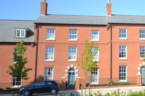 Marsden Street, Poundbury, Dorchester. 4 bedroom terraced house