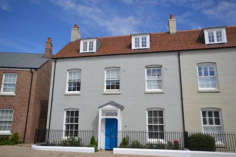 Liscombe Street, Poundbury, Dorchester. 5 bedroom end of terrace house for sale