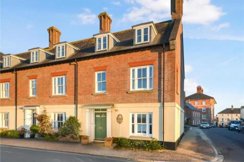 Great Cranford Street, Poundbury, Dorchester. 4 bedroom end of terrace house for sale