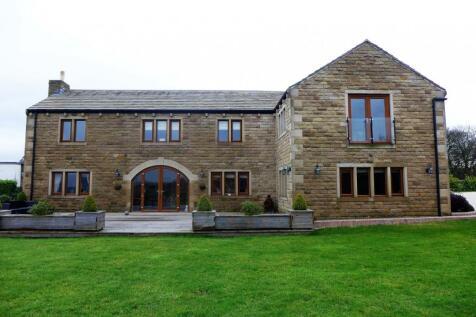 Park View Barn, Gosport Lane, Sowood, West Yorkshire, HX4. 6 bedroom detached house for sale