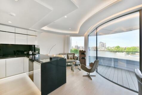 The Corniche , 21 Albert Embankment , London, SE1. 2 bedroom flat