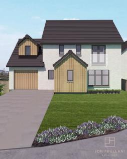Plot 2 The Kingsway, Castle Grange, Off Old Quarry Road, Ballumbie, Dundee. 4 bedroom detached house for sale
