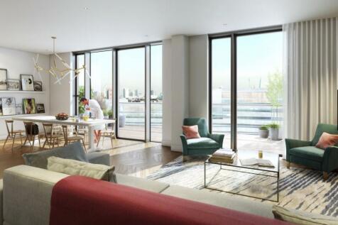 Battersea Power Station, London, SW11. 3 bedroom penthouse