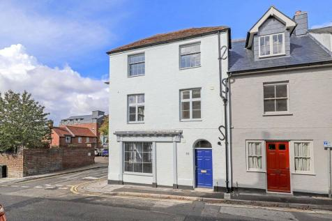 St Ann Street, Salisbury, Wiltshire, SP1. 3 bedroom end of terrace house for sale