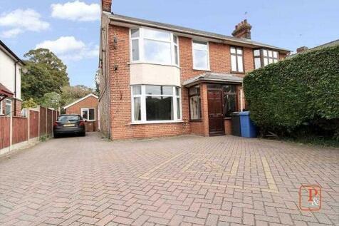 Norwich Road, Ipswich. 4 bedroom semi-detached house for sale
