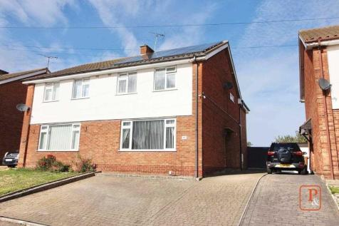 Coral Drive, Ipswich. 4 bedroom semi-detached house for sale