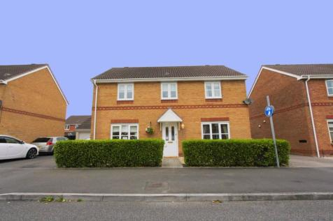 Harrison Drive, St Mellons, Cardiff. 4 bedroom detached house