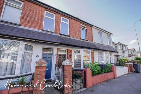 Caerphilly Road, Cardiff. 2 bedroom terraced house