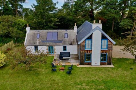 Roadside Cottage, Rafford, Forres IV36 2RU. 4 bedroom detached house for sale