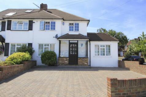 Copthall Road West, Ickenham, UB10. 4 bedroom semi-detached house