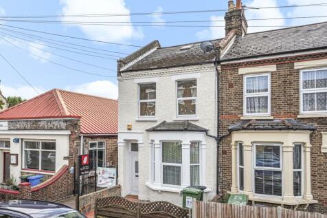 Herschell Road London SE23. 4 bedroom end of terrace house for sale