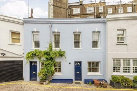 Osten Mews, South Kensington. 4 bedroom terraced house