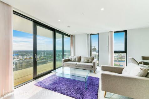 The Waterman, Greenwich Peninsula, SE10. 1 bedroom apartment