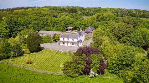 Bodedern, Nr Holyhead, Anglesey, LL65. 6 bedroom detached house for sale