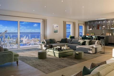 Four Bed Penthouse Apartment, The Moorings, Edinburgh. 4 bedroom flat for sale