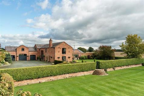 Ravens Lane, Nantwich, Cheshire. 6 bedroom country house for sale