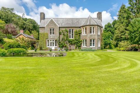 Llanilar, Aberystwyth, Ceredigion, SY23. 5 bedroom detached house