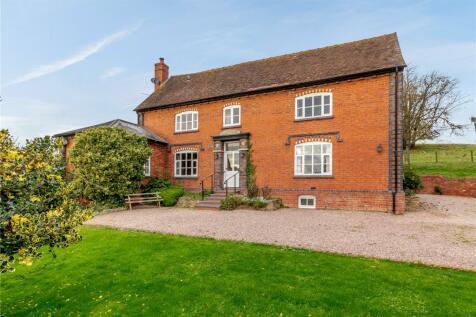 Bosbury, Ledbury, HR8. 6 bedroom detached house for sale
