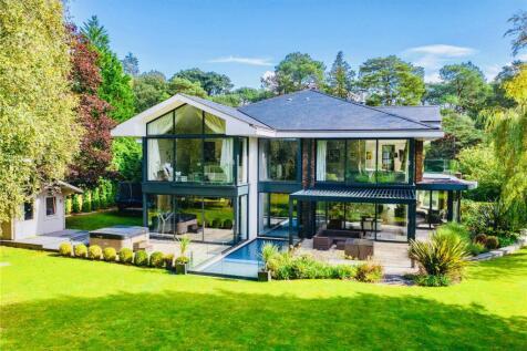 Bury Road, Branksome Park, Poole, Dorset, BH13. 5 bedroom house for sale