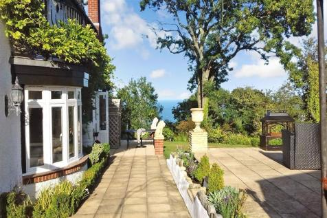 Luccombe Cliff, Luccombe, Shanklin, Isle of Wight. 4 bedroom detached house for sale