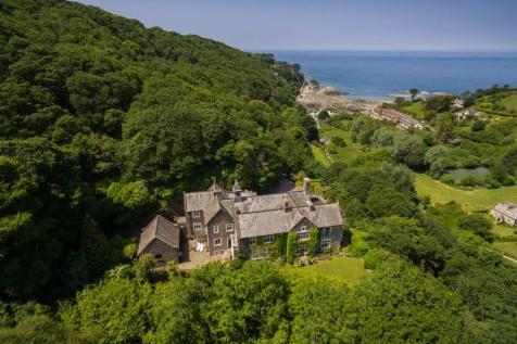 Lee Bay. 7 bedroom detached house for sale