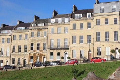 Marlborough Buildings, Bath. 4 bedroom flat for sale