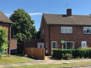 Lancaster Avenue, Bury St. Edmunds, Suffolk, IP32. 2 bedroom end of terrace house