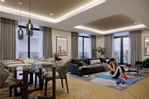 Hudson Quarter, Toft Green, York, YO1. 3 bedroom penthouse
