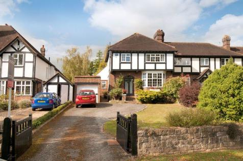 Hadlow Road, Tonbridge, TN9 1QE. 4 bedroom semi-detached house for sale