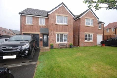 Wentworth Way, Ashington. 4 bedroom detached house for sale