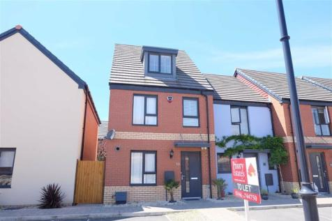 Portland Drive, Barry, Vale Of Glamorgan. 3 bedroom end of terrace house
