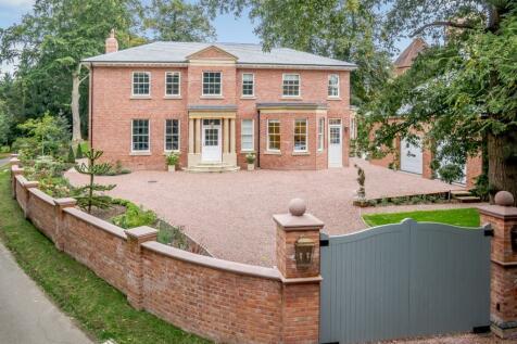 Church Lane, Meole Brace Village, Shrewsbury, Shropshire. 5 bedroom detached house for sale