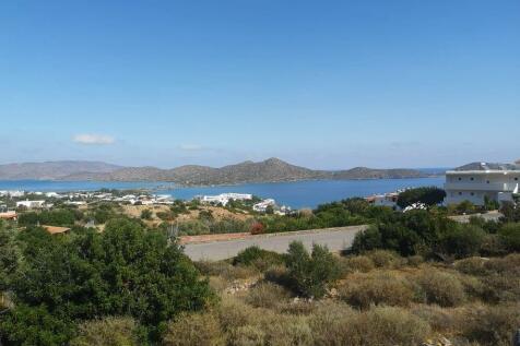 Crete, Lasithi, Elounda. Land for sale