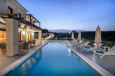 Crete, Chania, Almyrida. 4 bedroom villa for sale