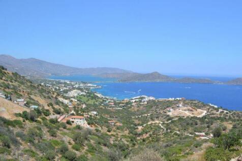 Crete, Lasithi, Elounda. Plot for sale
