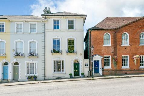 Castle Street, Farnham, Surrey. 4 bedroom terraced house for sale