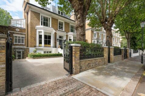 Holland Villas Road, Holland Park, London. 6 bedroom terraced house for sale