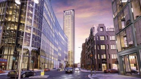 Principal Tower, 115 Worship Street, , London. 3 bedroom flat for sale