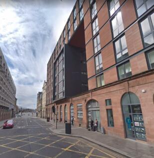 Oswald Street, Fusion Building, Glasgow. 1 bedroom flat