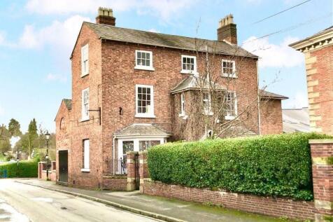 Priory Lodge, Priory Road, Shrewsbury. 5 bedroom town house