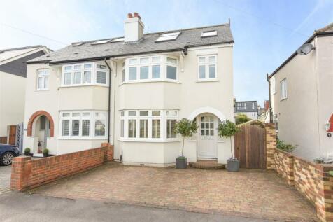 Melrose Gardens, Hersham, Walton-On-Thames. 4 bedroom semi-detached house for sale