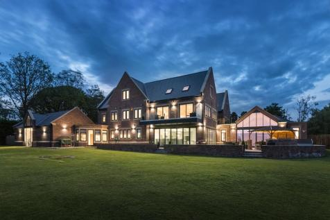 Brooklands, Tranwell Woods, Morpeth, Northumberland. 8 bedroom detached house for sale