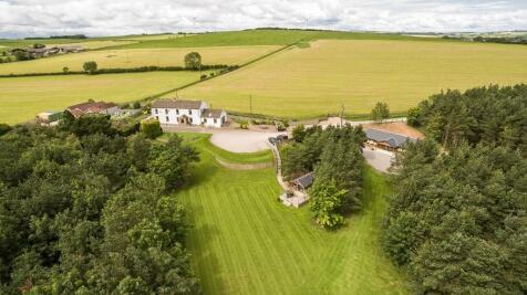 Greenfield Farm, Cornsay, County Durham. 5 bedroom farm house for sale