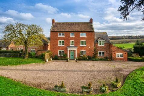 Winnal House, Kinlet, Bewdley, Shropshire, DY12 . 6 bedroom detached house for sale