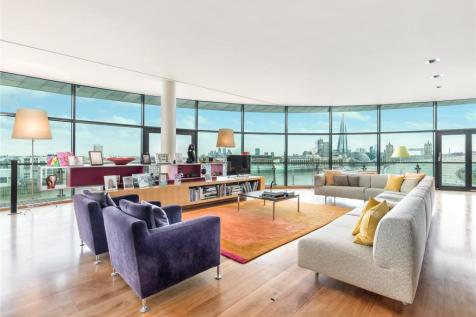 Cinnabar Wharf East, 28 Wapping High Street, London, E1W. 2 bedroom penthouse for sale