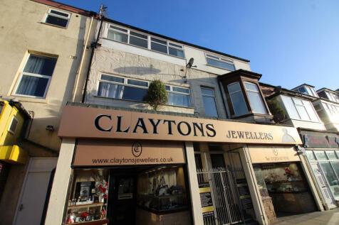 Cookson Street, 2nd Floor, Blackpool, Lancashire, FY1. 1 bedroom apartment