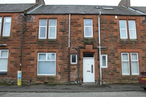 23b Mackinlay Place, Kilmarnock, Ayrshire, KA1. 2 bedroom flat