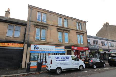 Glasgow Road, Paisley, Renfrewshire, PA1. 2 bedroom flat